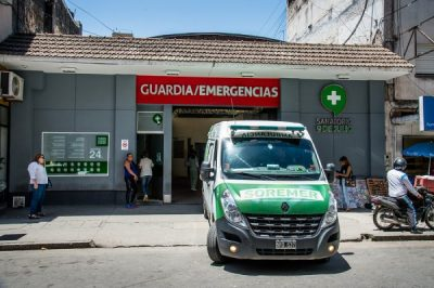 Sanatorio 9 de Julioの救急・集中治療室