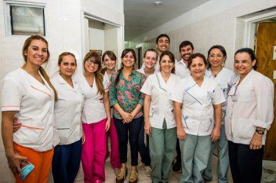 Sanatorio 9 de Julioの病院スタッフ